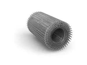 Сетка металлическая в рулонах, 1х50м