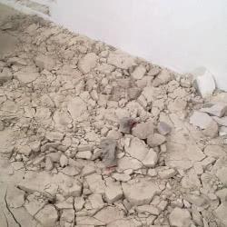 Демонтаж стяжки пола во Владимире: цена демонтажа цементной стяжки